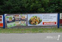 Müller klebt! Leonberg Digitaldruck Banner Bürger Maultaschen