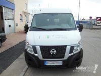 Müller klebt! Leonberg Fahrzeugbeschriftung Nissan NV400 Front