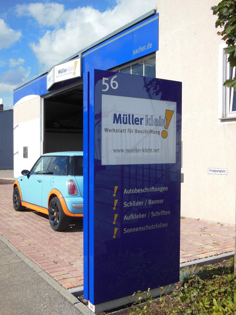 Müller klebt! Leonberg Firma